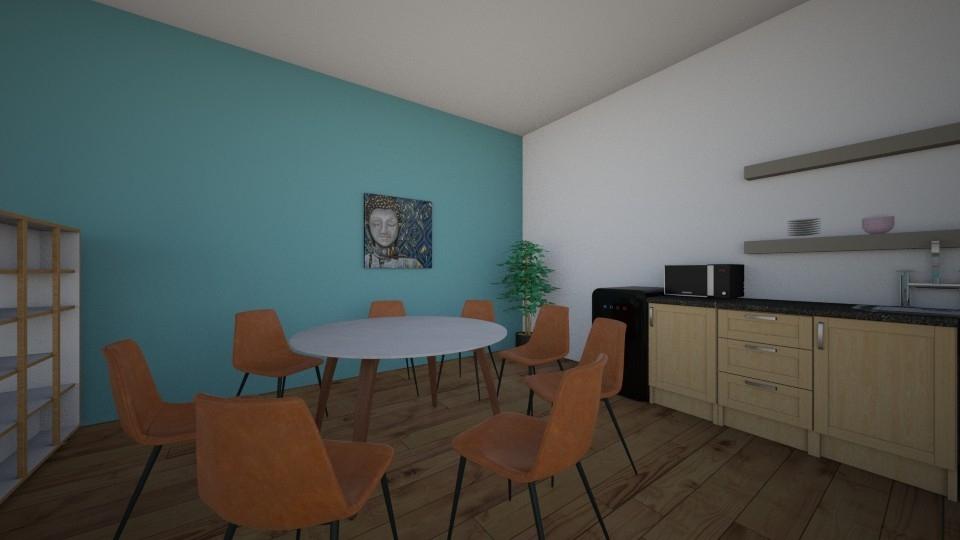 Sample Drawings: wellbeing workshop kitchen area