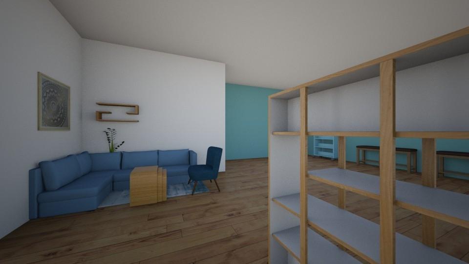 Sample Drawings: workshop space lounge area