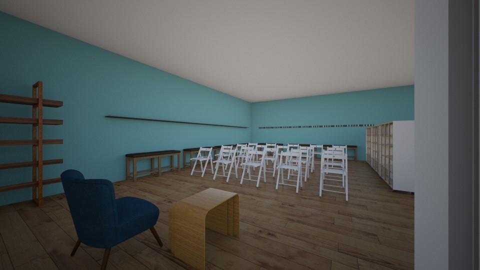Sample Drawings: workshop space seminar set up